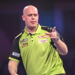 Van Gerwen door naar finale dag German Darts Grand Prix 2019