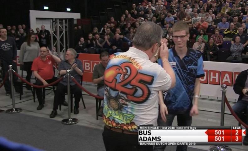 Martin Adams vs Patrick Bus