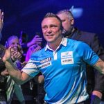 Price en Cross in finale International Darts Open