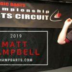 CDC Tour: Matt Campbell pakt eerste titel