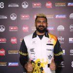 Nitin Kumar heerst en mag weer naar WK