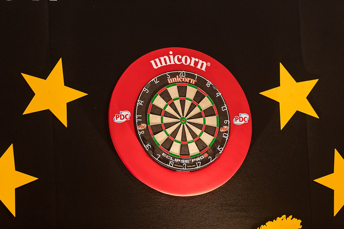 Dartbord Euro Tour