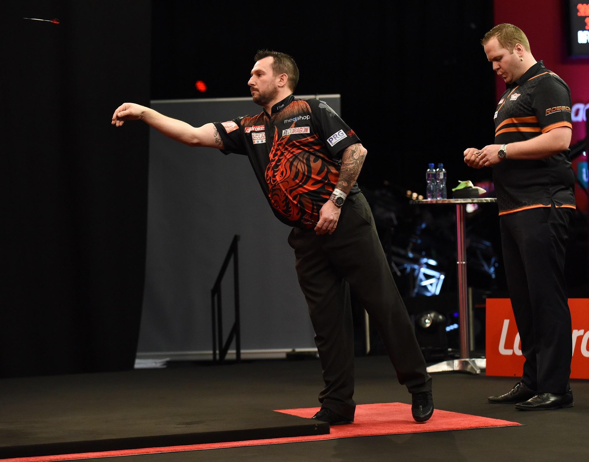 Jonny Clayton vs Dirk van Duijvenbode